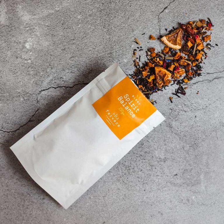 blend di tè per kombucha fervere