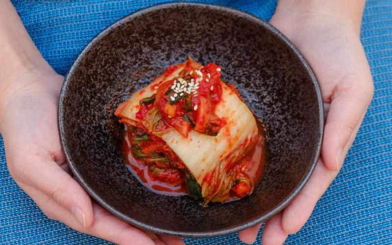 kimchi fermentato coreano