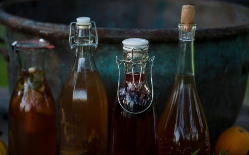 Tappi per la seconda fermentazione del kombucha
